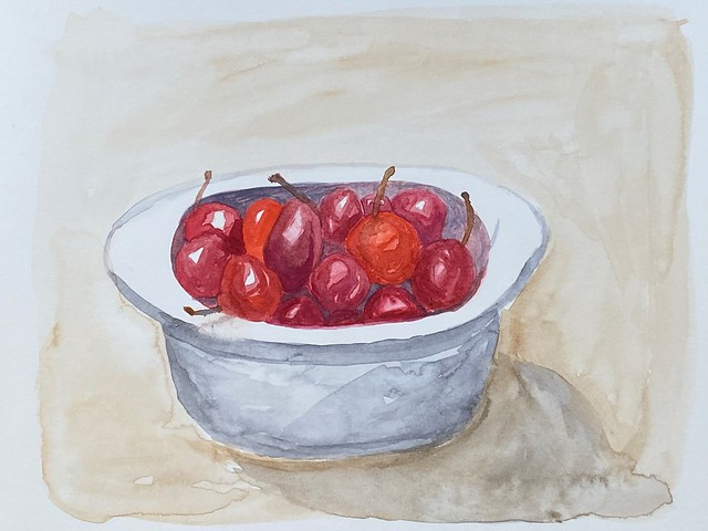 ____ is like a bowl of cherries.