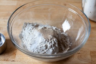 salt, yeast, flour