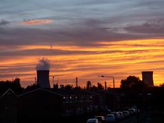 Drapers sunset