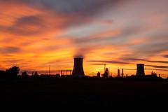 Sunset Saltend long exposure 2