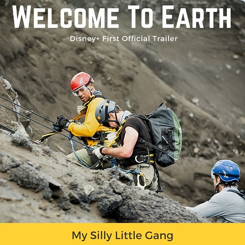 Welcome To Earth Disney+ First Official Trailer #MySillyLittleGang