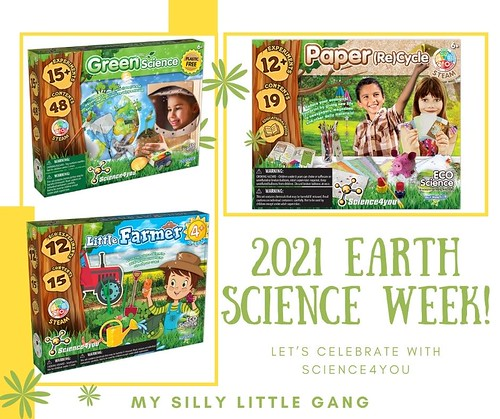 2021 Earth Science Week ~ Let's Celebrate with Science4you #MySillyLittleGang