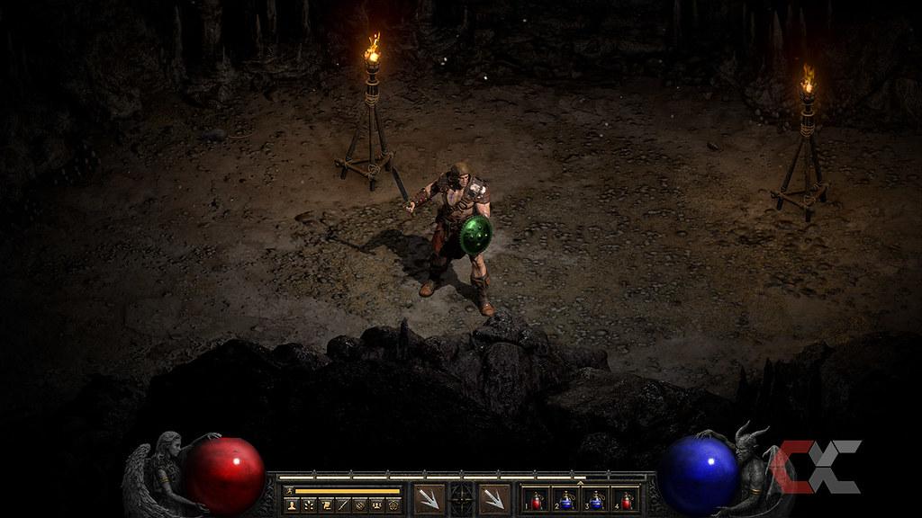 Review Diablo II Resurrected Overcluster 4K