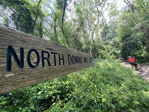 North downs way sign post