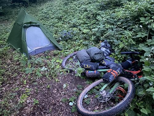 Wild camping again