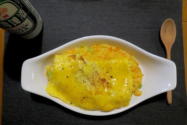 為爸爸煮生日餐。紅蘿蔔起司燉飯(17.2ys)