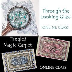 Online Zentangle-Inspired Art classes