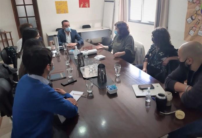 2021-10-07 DESARROLLO HUMANO: Autoridades de SENAF resaltaron el trabajo de San Juan en Niñez