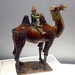 Camel (Bactrian) and rider blowing musical instrument (Tang)