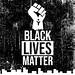 BLM banner, w fist, Instagram