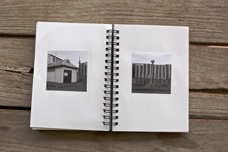 One of two double page spreads in my newest photobook Contact?
