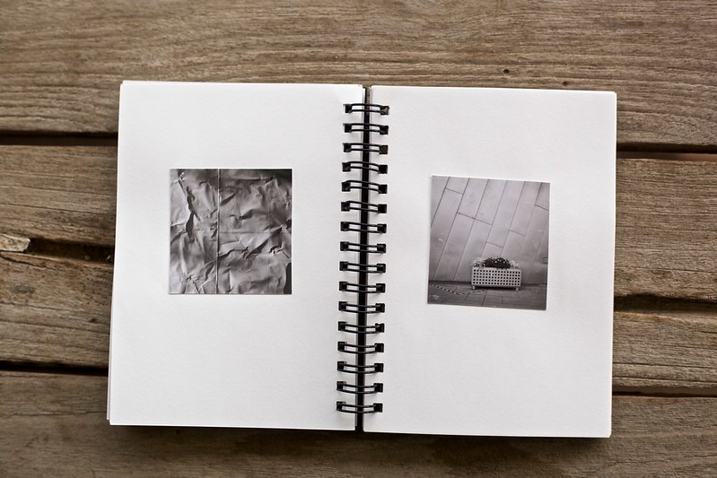The second double spread in my new photobook Contact?