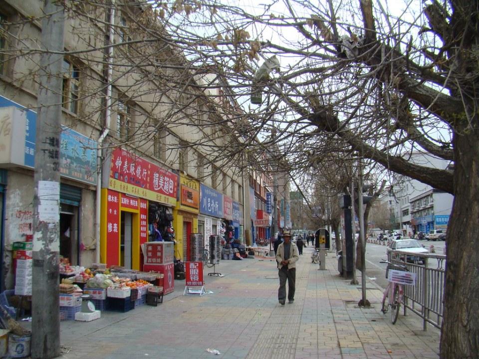 Tíbet casco urbano Shigatse 06