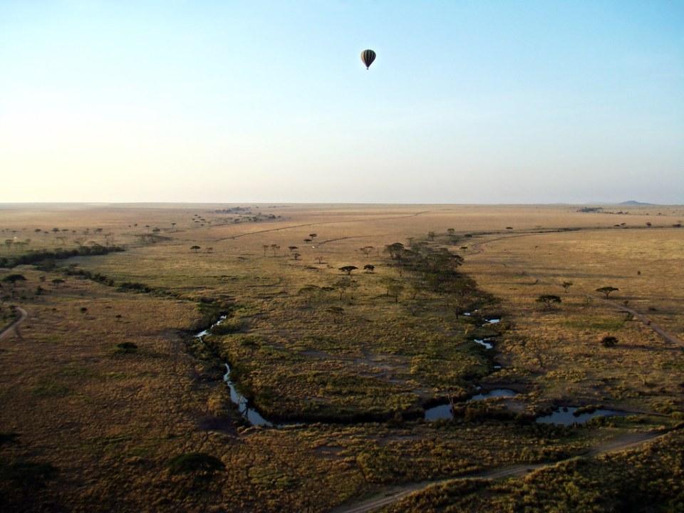 viaje en globo por el Serengueti Tanzania 06