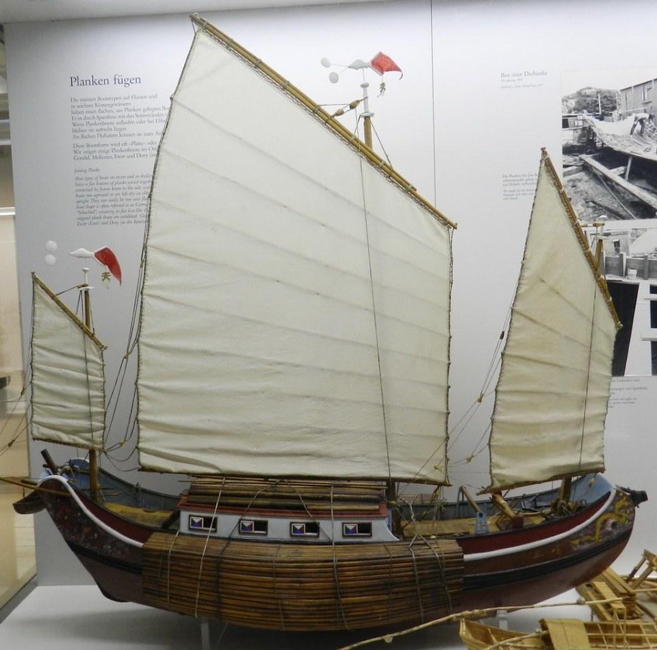 Maquetas barcos a vela Museo Alemán Munich Alemania 03