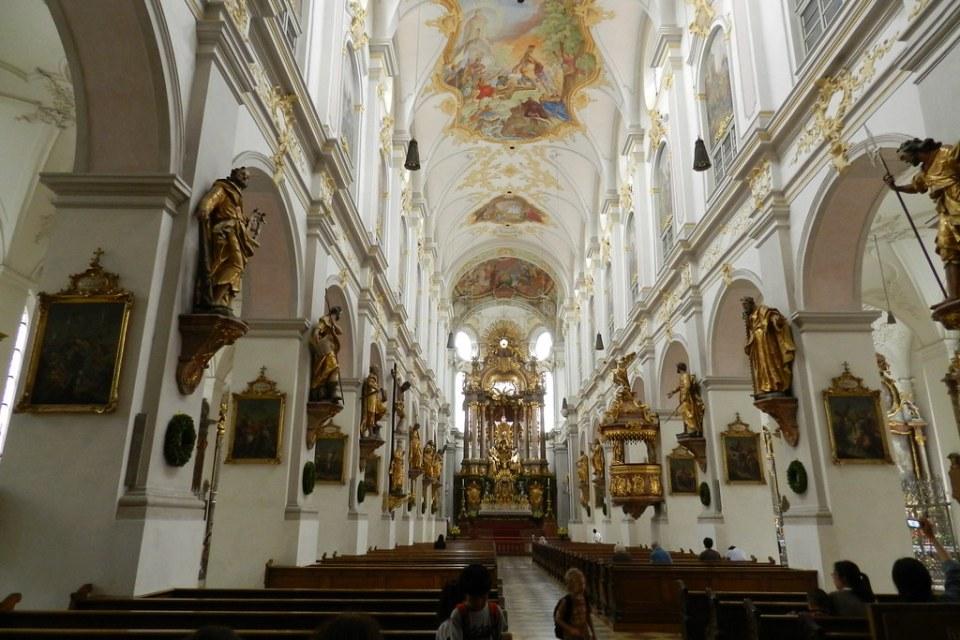 Munich iglesia de San Pedro, Alter Peter, Viejo Pedro Alemania 04