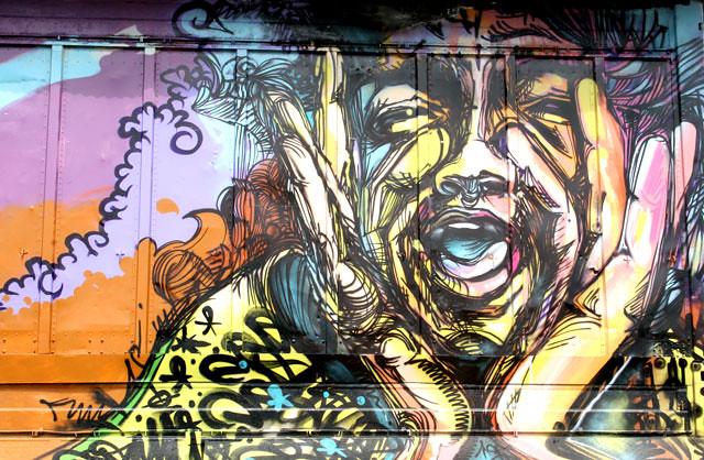 graffiti wake up call