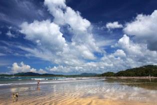 Low Tide & Clouds at Tamarindo Beach