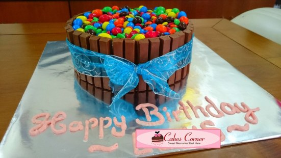 M_M Birthday Cake