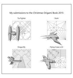 diagrams to be published in christmas origami book 2015 flickr christmas origami diagram [ 1024 x 1024 Pixel ]
