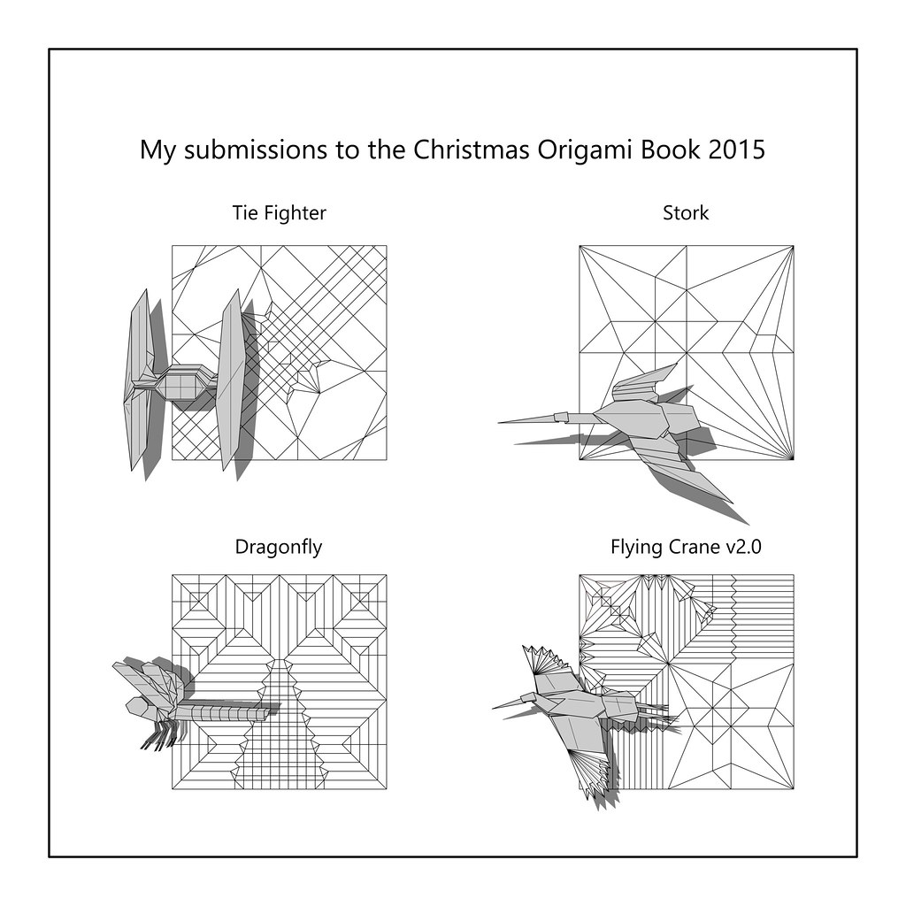 hight resolution of diagrams to be published in christmas origami book 2015 flickr christmas origami diagram