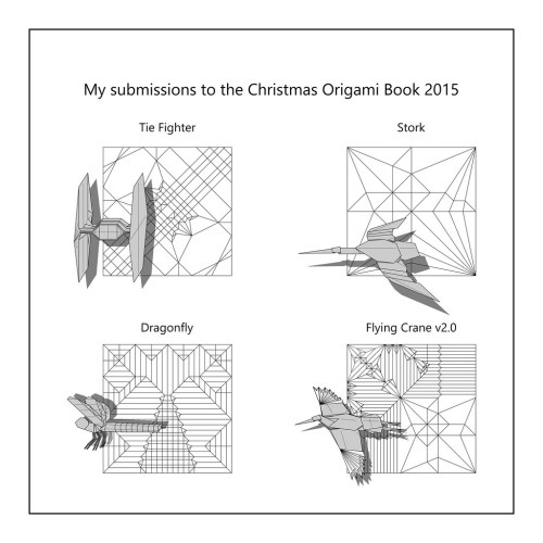 small resolution of diagrams to be published in christmas origami book 2015 flickr christmas origami diagram