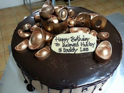 2kg Chocolate Nutella Banana cake