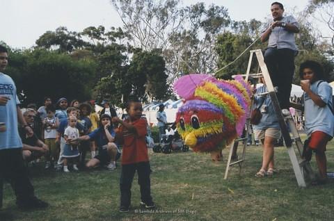 Children's Garden at San Diego LGBTQ Pride Festival, 2003