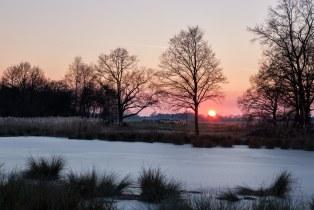 Ein Winterabend am Niederrhein