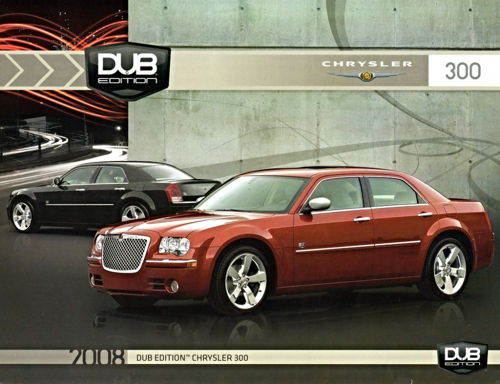 medium resolution of 2008 chrysler 300 dub edition
