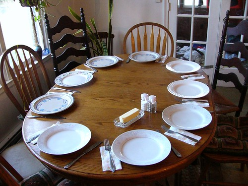 The table is set   We're getting ready for a celebration! It…   Flickr