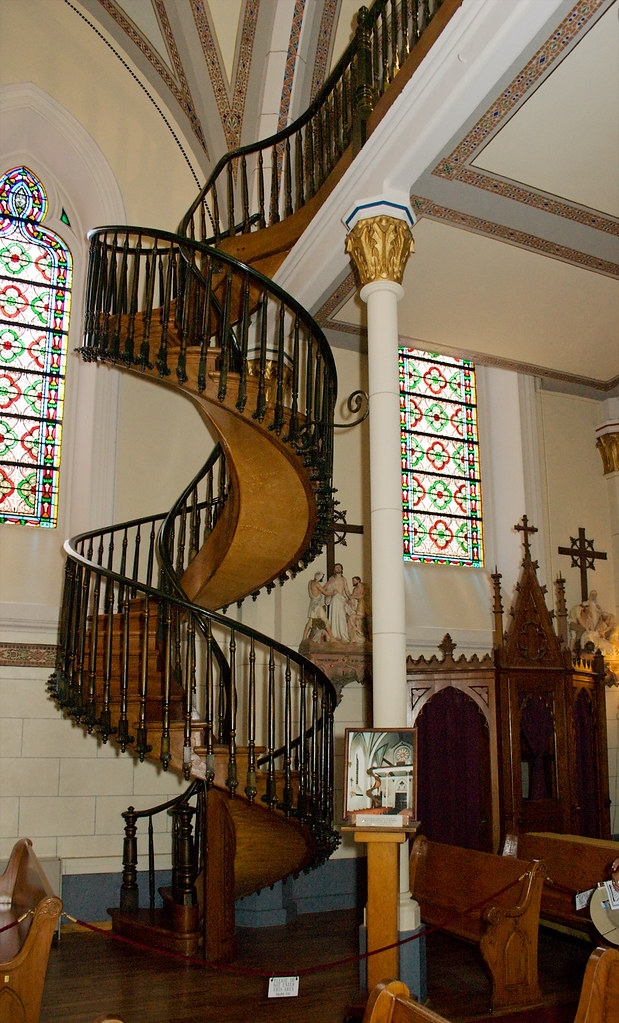 Miraculous Staircase Of Loretto Chapel From The Chapel S L… Flickr   The Staircase Of Loretto Chapel   Spiral   Explained   Ancient   Free Standing   Sparrow