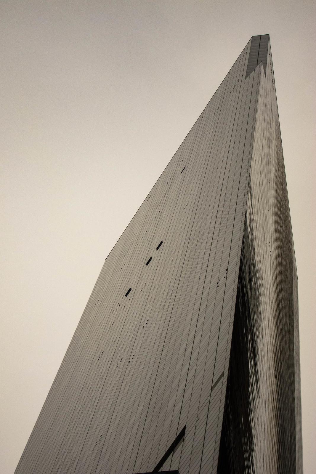 Tall angular building