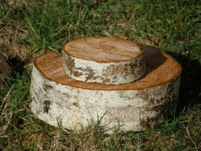 Natural Cake Platters