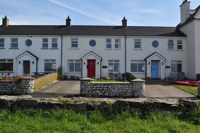 Casas frente al mar Irlanda del Norte