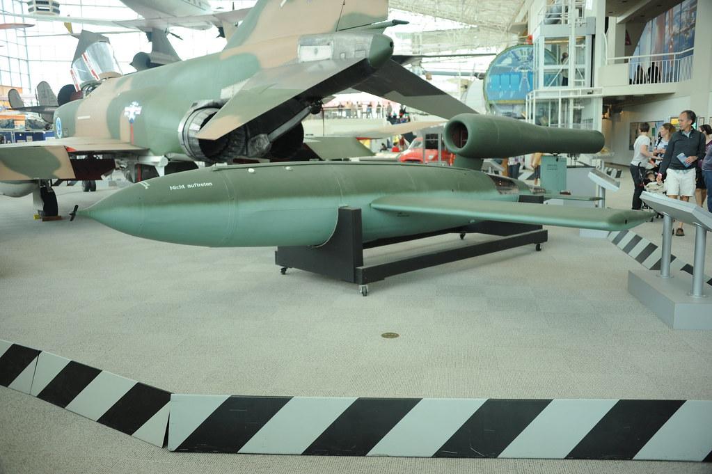DSC_6932 | German V1 Flying Bomb (Fieseler Fi 103) on displa… | Flickr