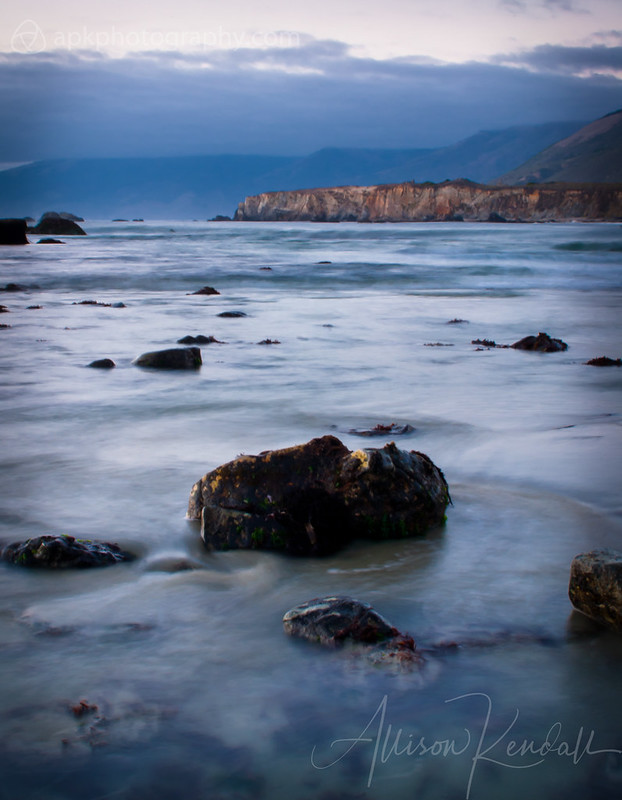Last light, Big Sur