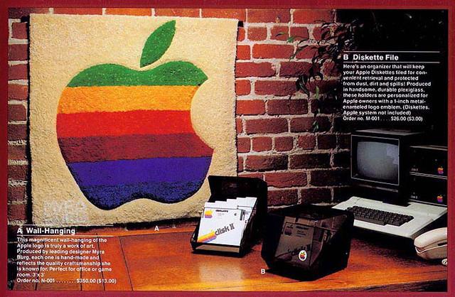 Apple Logo Wall Hanging 1983