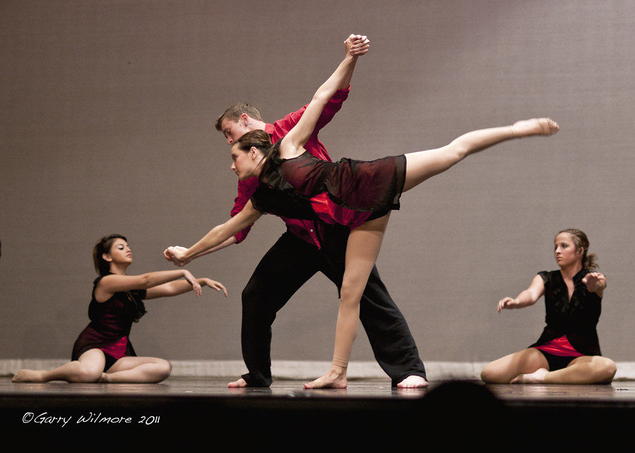 Dance foursome  Dobson High School fall dance concert Mesa  Flickr
