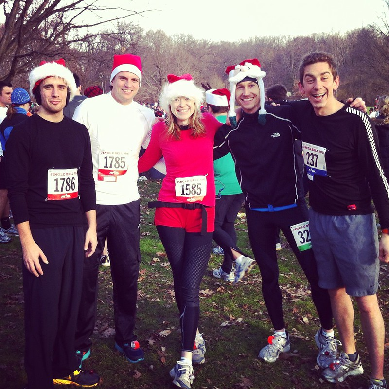 Jingle bell jog, edited for instagram