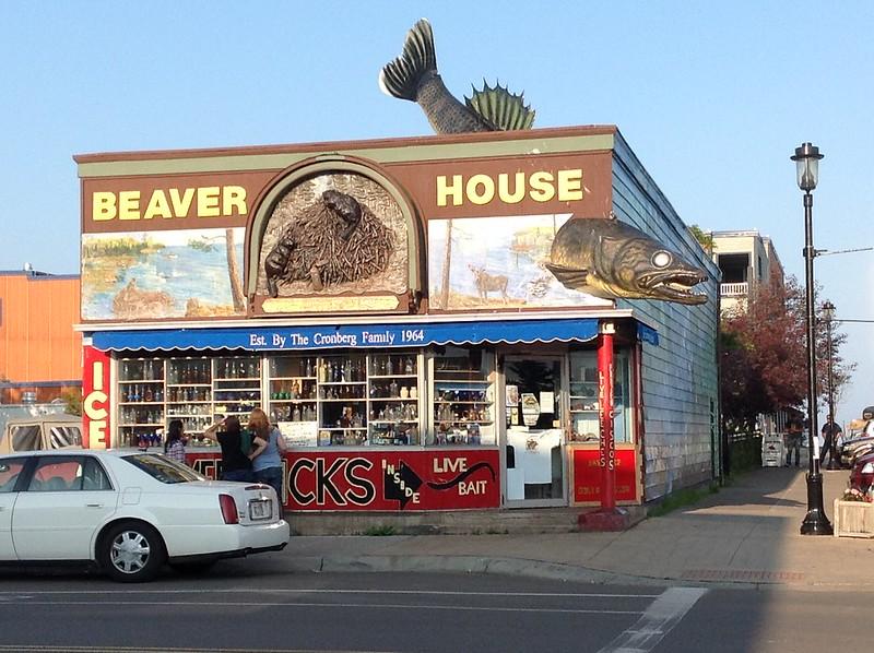 Beaver House in Grand Marais
