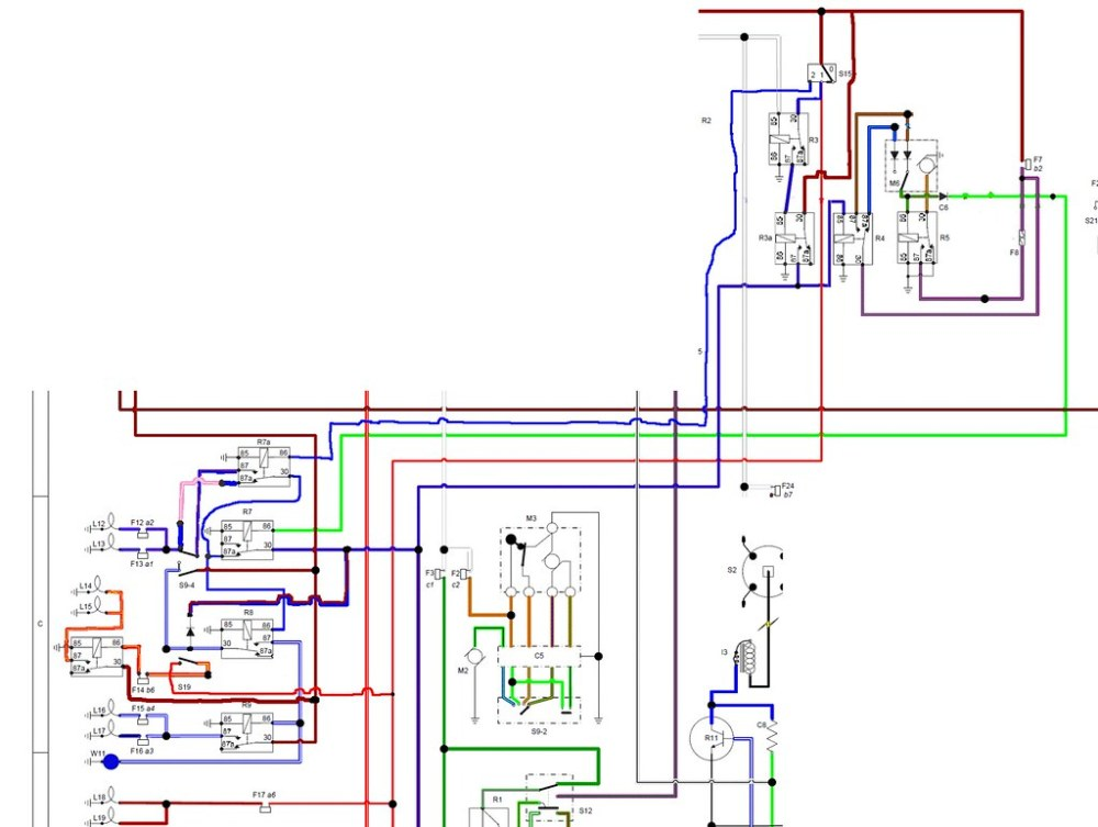 medium resolution of  wiring diagram for the dimdip system fitted to reliant sst and sabre by mateybass