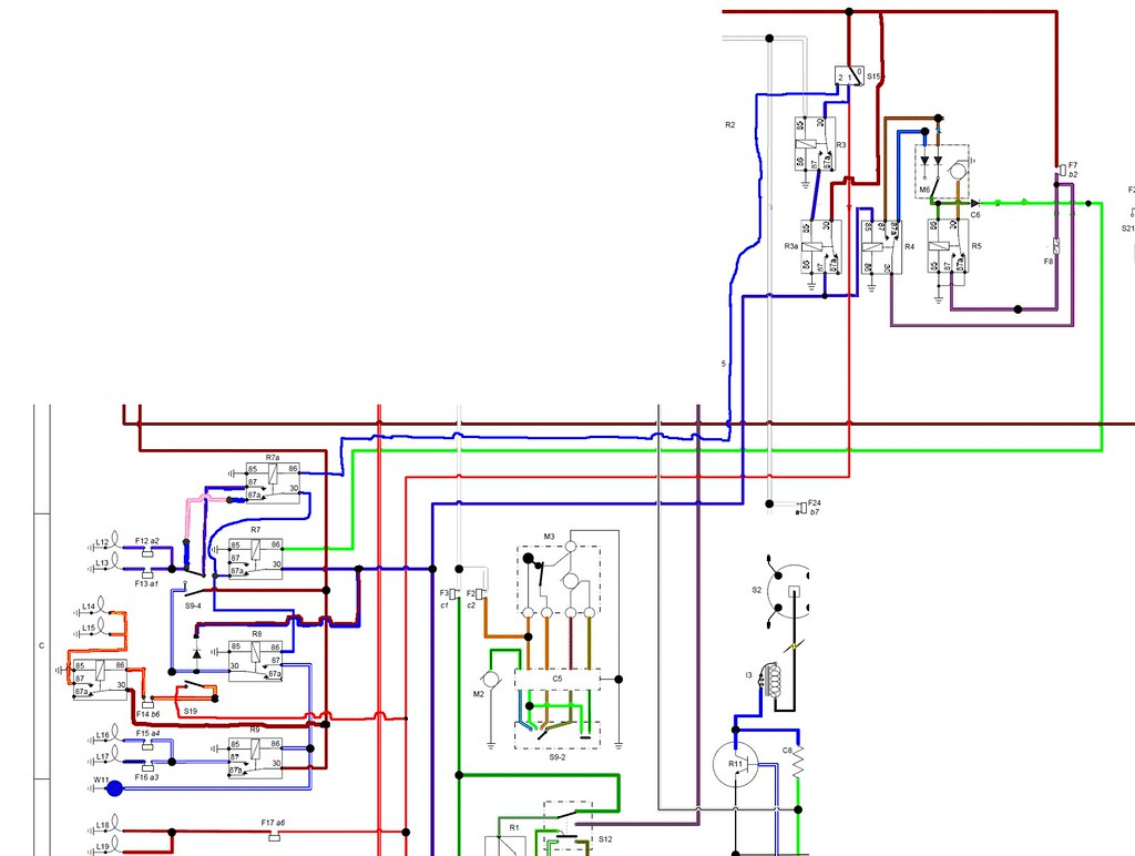 hight resolution of  wiring diagram for the dimdip system fitted to reliant sst and sabre by mateybass