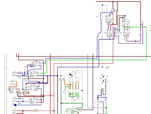 small resolution of  wiring diagram for the dimdip system fitted to reliant sst and sabre by mateybass