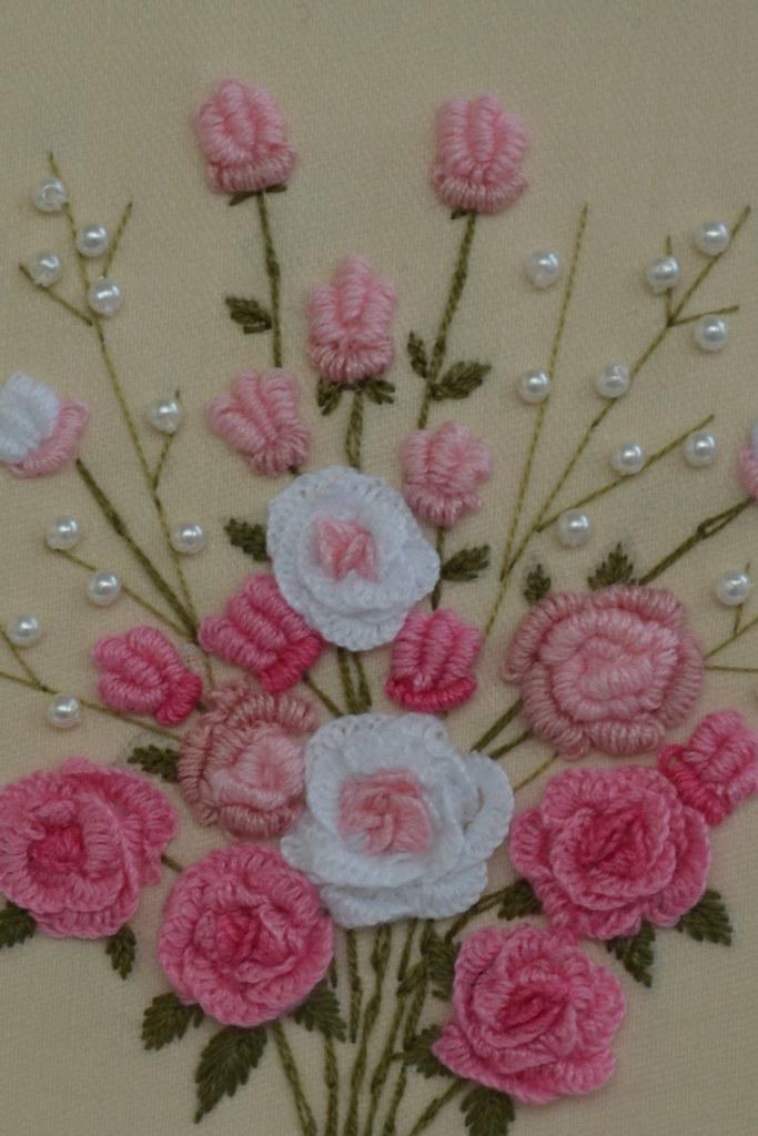 Bullion Stitch Rose : bullion, stitch, Bullion, Stitch, Roses, Susan, Flickr