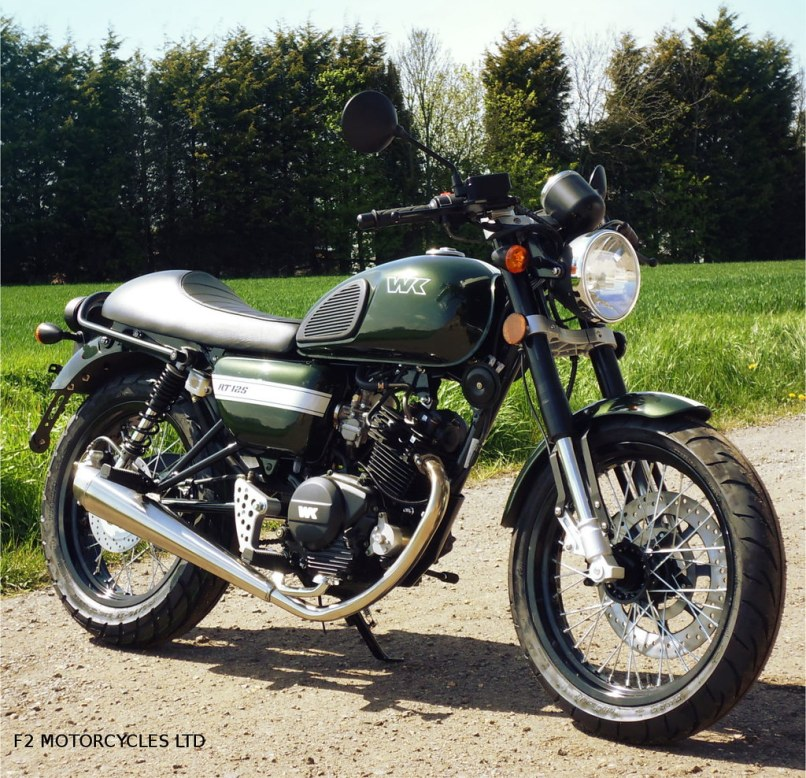 Wk Rt Cafe Racer Green 125cc
