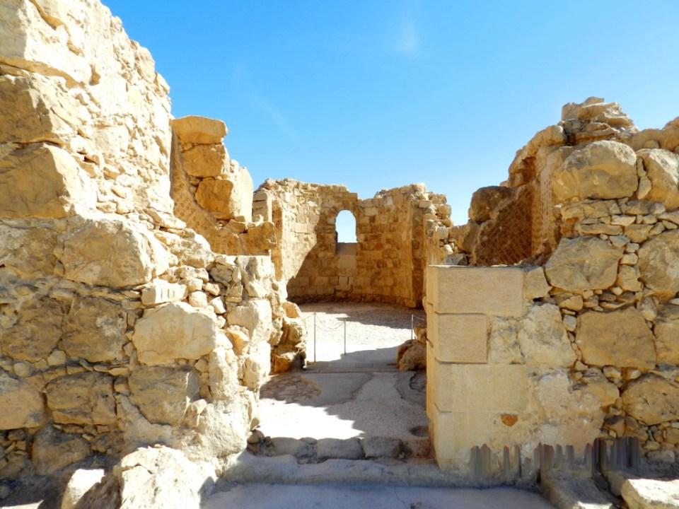 Fortaleza Masada Iglesia Bizantina Israel 04