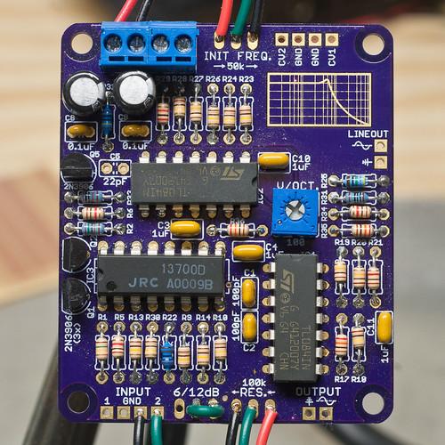 2nd-order Voltage-Controlled Filter