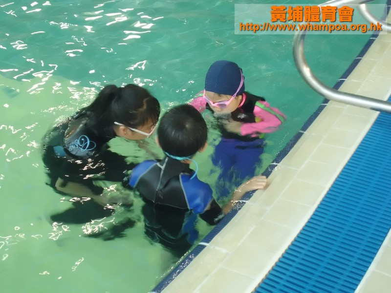 20111112 何文田 幼兒泳班