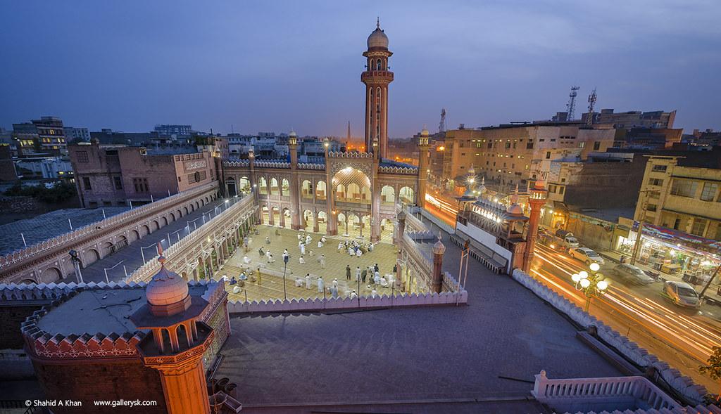 Sunehri Masjid In Peshawar Pakistan Sunehri Mosque Is